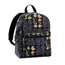 "TEENAGE MUTANT NINJA TURTLES Backpack School Bag 16"" Urban Fashion"