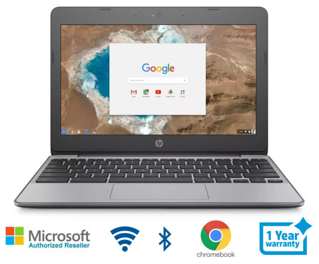 HP Chromebook 11 Laptop Intel 1.6 GHz 4 Memory 16 HD Bluetooth HDMI Webcam Wifi