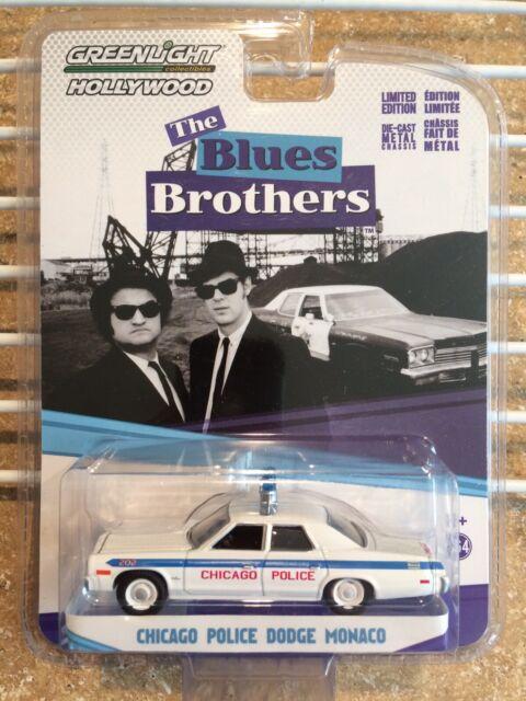 "Greenlight 1:64 #44710-C    /""Blues Brothers/"" 1974 Dodge Monaco"