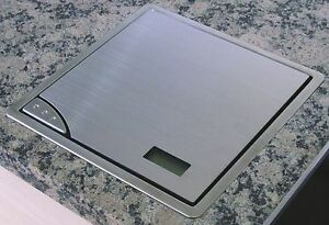 Arbeitsplatten Einbau Kuchenwaage Edelstahl 210 X 210mm