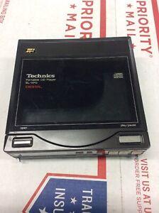 Vintage-Technics-SL-XP5-CD-Player-w-SH-CDB5-Rechargable-Battery