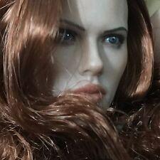 New Rare 1/6 Custom Black Widow  Head Sculpt For Hot Toys Female Phicen Body