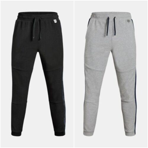 Under Armour Pants Tracksuit Sweatpants Mens Gym Grey Black S-M-L-XL-XXL