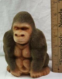 Fuzzy Gorilla Bank Vintage King Kong Rare Vintage