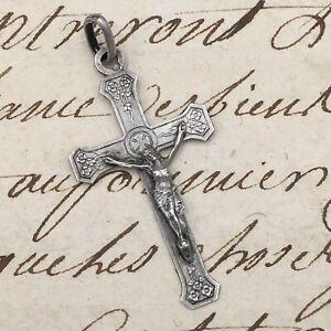 Small-cross-Pendant-Silver-Religion-Silver-cross-During