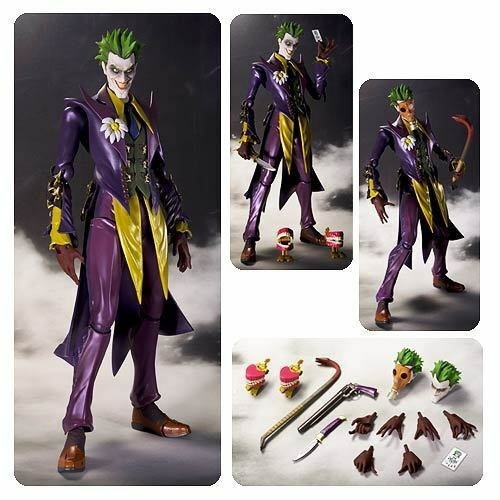 Bandai Injustice Gods Among Among Among Us Joker Figuarts Action Figure ... d0aa86