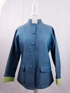Cupcake-Women-Green-Asian-Inspired-Blazer-Size-Medium