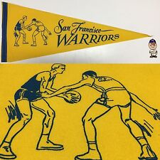 1960's San Francisco Warriors Golden State NBA Pennant Basketball 11.5x29.5
