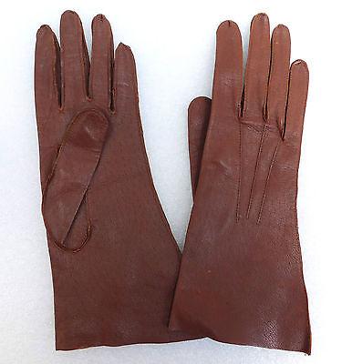 CC41 leather gloves Vintage 1940s war-time WW2 utility mark clothing Jevon Jevan