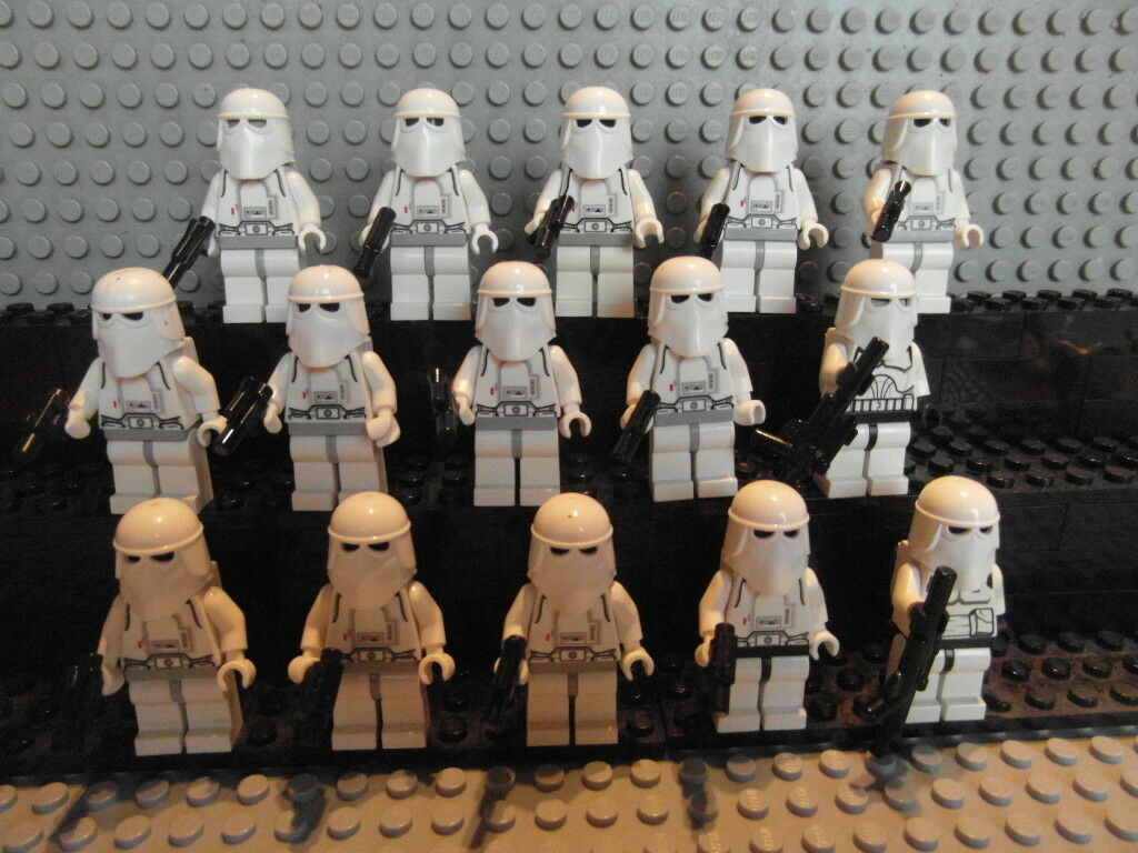 LEGO Star Wars Figuren Rebellen Schneetruppen Rebel Scout Trooper Tturmtruppen
