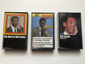 Bill-Cosby-Cassette-Tape-Lot-Himself-Best-Of-200-MPH-Untested