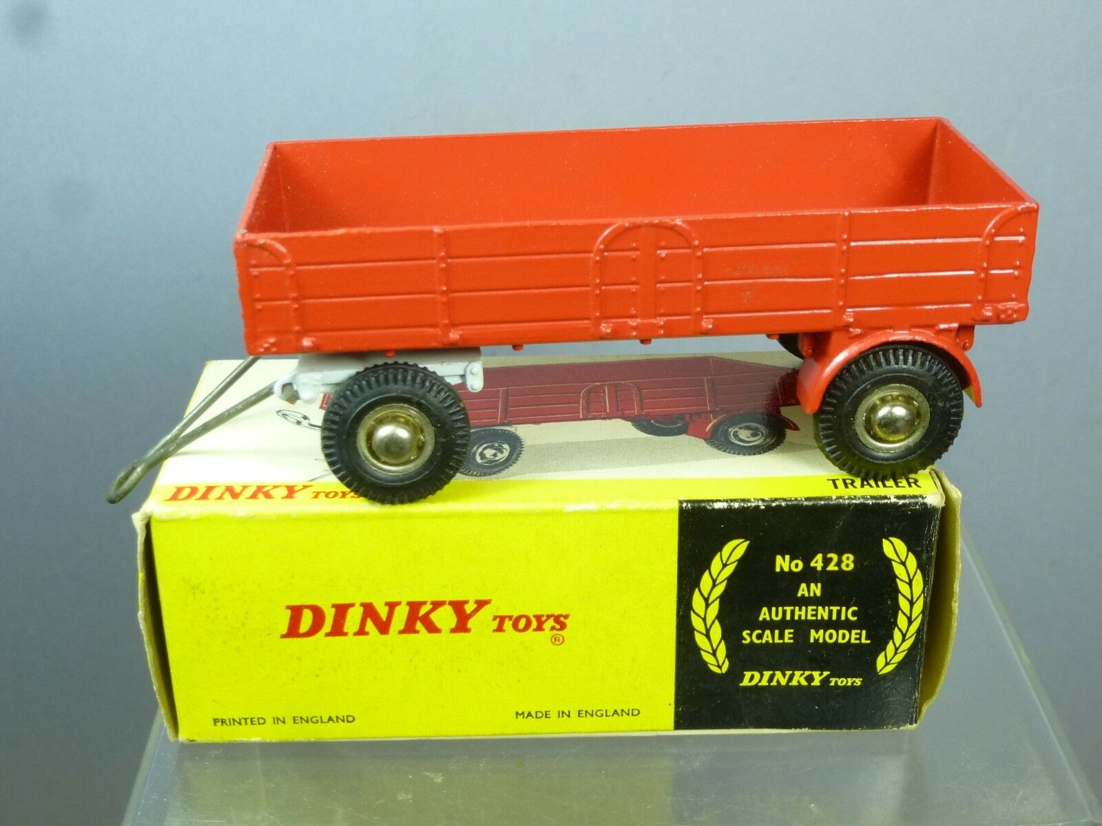 DINKY TOYS modèle No.428 grande grande grande remorque