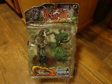 2000 PALISADES TOYS--THE HOUSE OF THE DEAD--JOHNNY & FROGS FIGURES--EXCLUSIVE