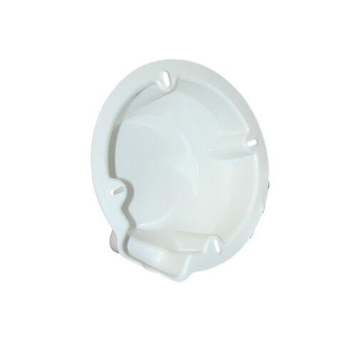 """Weiß Bietet Schutz Poly-planar Durchmesser Größe 7 ⅛/"""" Speaker Rückgehäuse"""