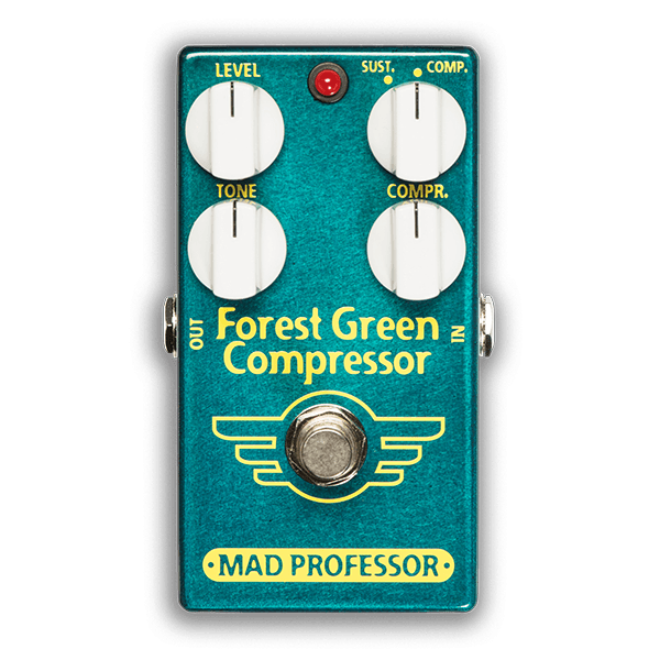 Mad Professor Forest Grün Compressor Effects Pedal