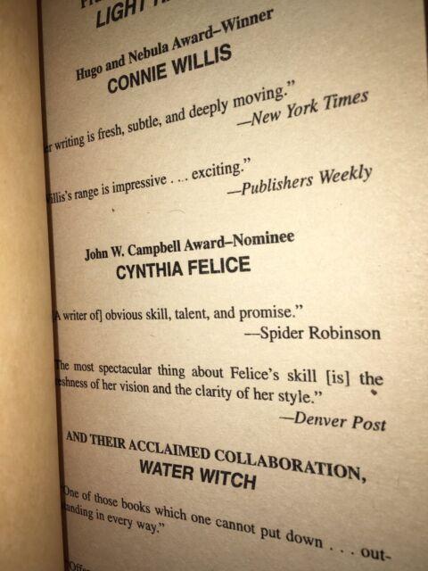 Light Raid By Connie Willis And Cynthia Felice 1990 Paperback Ebay