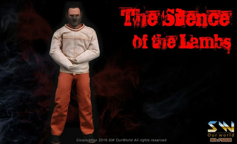 SW Our World FS006 The Silence of the Lambs Hannibal Lecter 1 6 figure