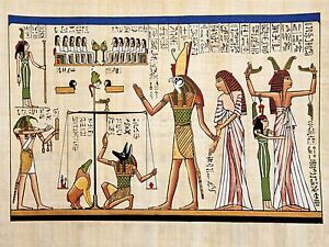 PRINT-PAINTING-ANCIENT-EGYPTIAN-HEIROGLYPHICS-HORUS-THOTH-ANUBIS-MURAL-LFMP0018