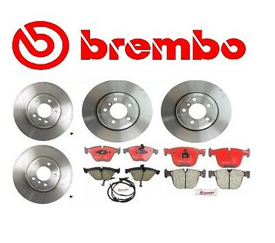 For BMW E65 E66 750i 760Li Rear Disc Brake Rotor Brembo 09 A712 11