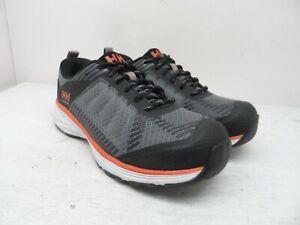Helly-Hansen-Women-039-s-Aluminum-Toe-S-P-Athletic-Safety-Shoes-Grey-Orange-Size-7M
