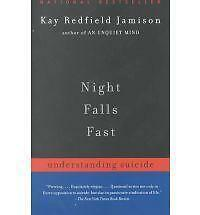 NIGHT FALLS FAST by Kay Redfield Jamison FREE SHIPPING paperback book suicide