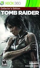 Tomb Raider -- Collector's Edition (Microsoft Xbox 360, 2013)