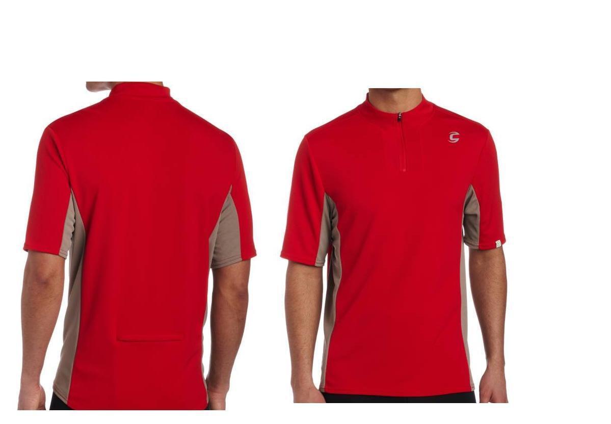 Cannondale Men 's 's 's quick Jersey 2m160 EMP manches courtes maillot taille L-large rouge nouveau b108b9