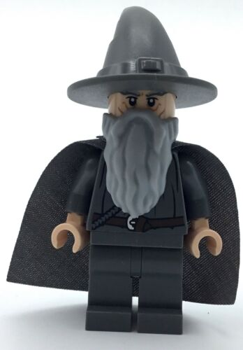 LEGO NEW GANDALF THE GREY MINIFIG LORD OF THE RINGS LOTR WIZARD GENUINE FIGURE
