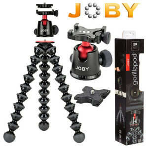 Joby-GorillaPod-5K-Flexible-MiniTripod-with-Ball-Head-Kit-BlackCharcoal-JB015008