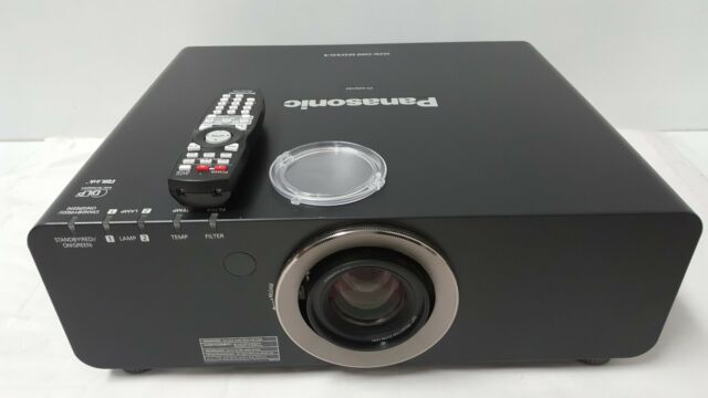 panasonic pt dz6700u dlp projector ebay rh ebay com Manual for Panasonic Microwave Panasonic DLP Projectors