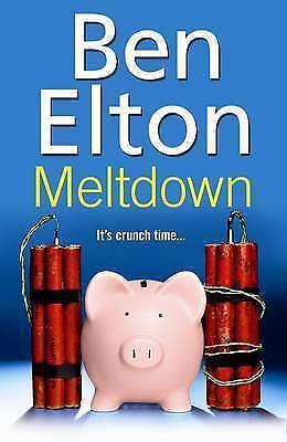 """AS NEW"" Elton, Ben, Meltdown, Hardcover Book"