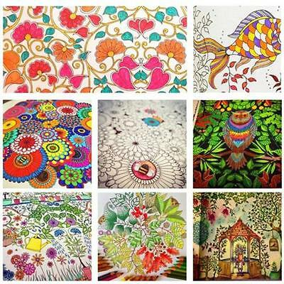 Secret Garden Colouring Book An Inky Treasure Hunt by Johanna Basford ba72@