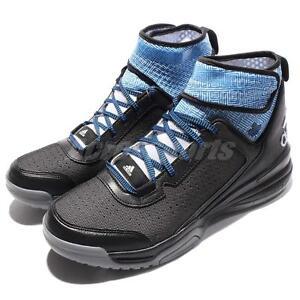 buy popular 6c252 eb124 Image is loading Adidas-Dual-Threat-BB-Andrew-Wiggins-Black-Blue-