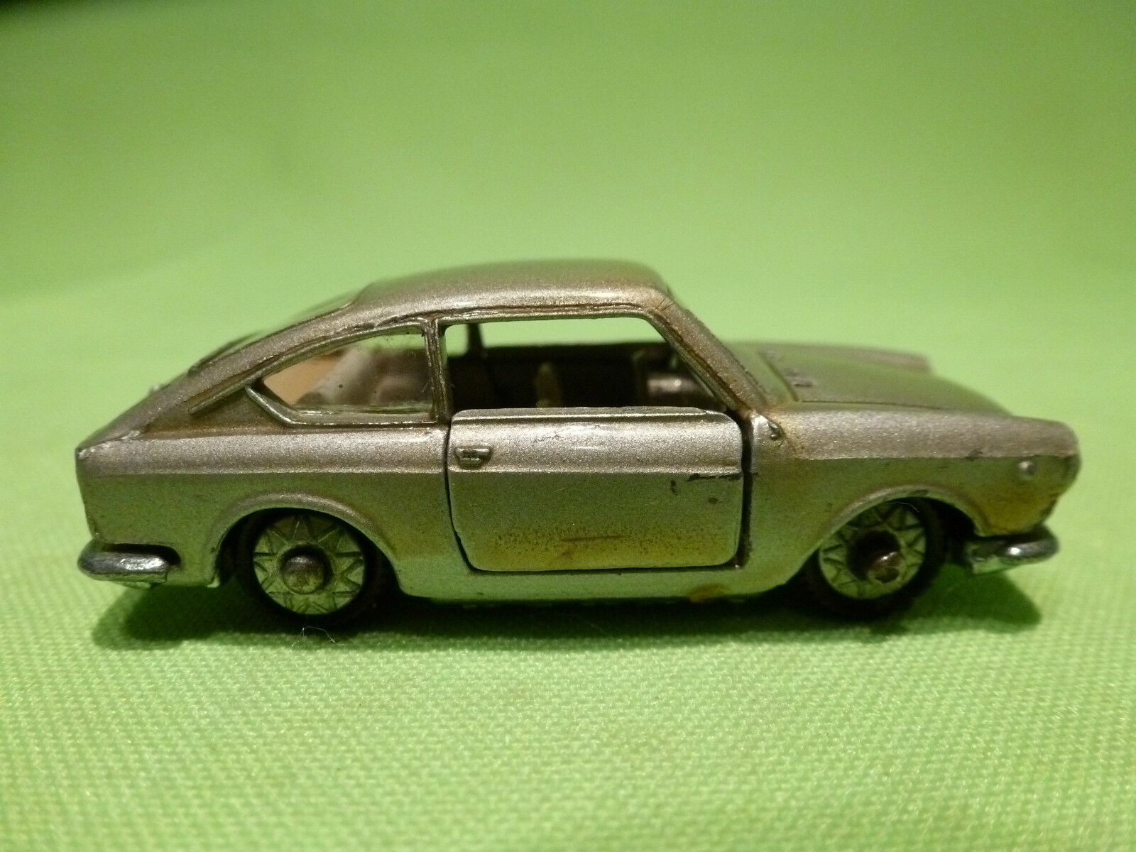 PENNY 30 FIAT 850 COUPE COUPE COUPE 1 66 - GREY METALLIC - RARE SELTEN - GOOD CONDITION 751392