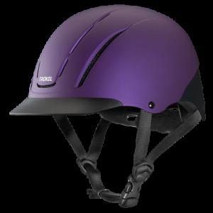 Troxel Riding Helmet Spirit purple Duratec Horse Safety Low Profile Equine