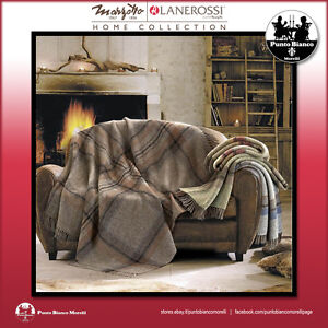 Norvegia Plaid Throw Agreeable To Taste Responsible Marzotto Lanerossi