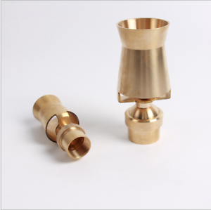"3//4/"" DN20 Brass Cascade Cedar Style Ice Tower Pond Garden Fountain Nozzle Head"