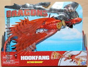 Spin Master Dragons Action Dragon Hookfang hakenzahn Nouveau/Neuf dans sa boîte 20087472