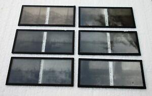 Six-plaques-verre-6-X-13-stereoscopique-le-Havre-annees-1920
