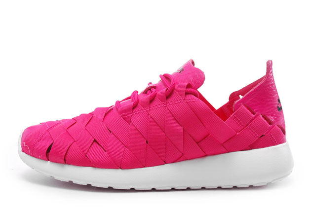 Nike WMNS Rosherun Woven QS Dunk Free Jordan Air Max Force Pink 9 Seasonal clearance sale