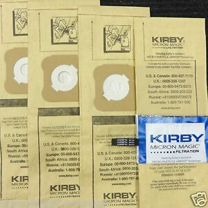 Kirby-Micron-Vacuum-Bags-Ultimate-G-Diamond-G6-G5-G4-G3-4-Bags-amp-1-Belt-197394