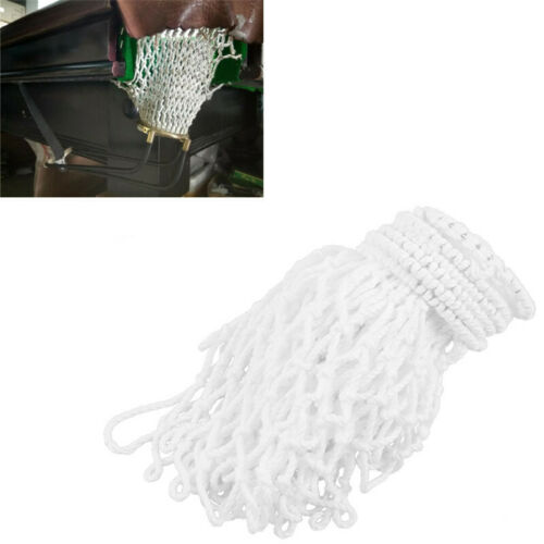 6 Count Pool Snooker Billiard Table Thread Bags Mesh Nets Pockets Cotton FI