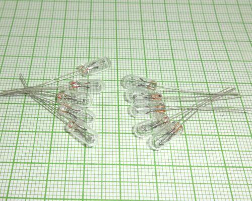 10 Stück Miniatur Glühlämpchen. 12V, 4,7 X 11mm, mini Lampe, Glühlampen E596