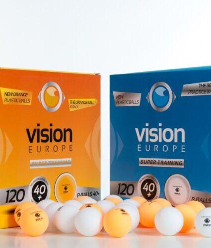 VISION SUPER TRAINING 40+ TABLE TENNIS BALLS