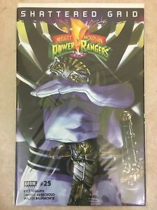 Boom Studios Mighty Morphin Power Rangers #25 1:25 Chase variant MMPR Saba