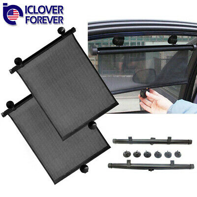 Car Rear Window Sun Shade Blind Suction Cup Fit Screen Baby Child Dog Protection
