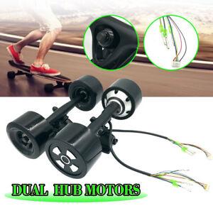 90MM-6364-Dual-Hub-Motor-Drive-Kit-Wheel-Parts-for-Electric-Skateboard-Longboard