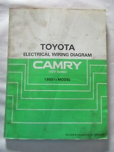 image is loading 1988-1-2-toyota-camry-vzv-electrical-wiring-