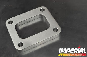 T4 turbo flange / spacer - 12mm STAINLESS STEEL
