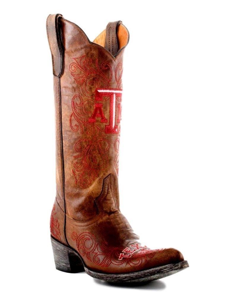 Texas A&M Aggies Gameday Womens Cowboy Boots Size 11 TAM-L007-1